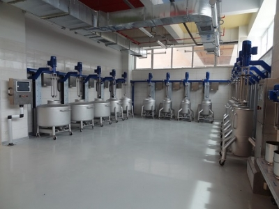 Mobil Pot Mixer Unit
