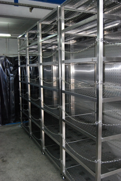 Stainless Steel Products and Raw Shelves