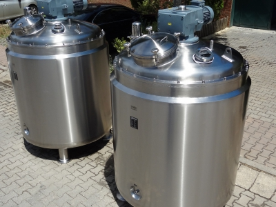 Jacketed Type Stainless Steel Stock Tank