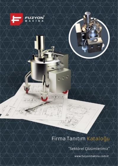 Füzyon Makina Generall Brochure (Untill 2015)