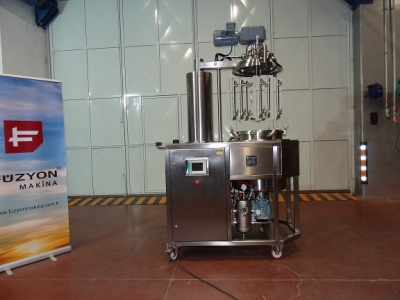 Homogenizer and Reactor with Mixing & Pressure