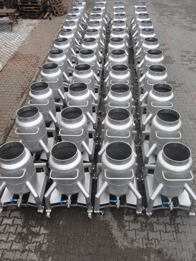 175 Liters Capacity Mobil Pot Tanks